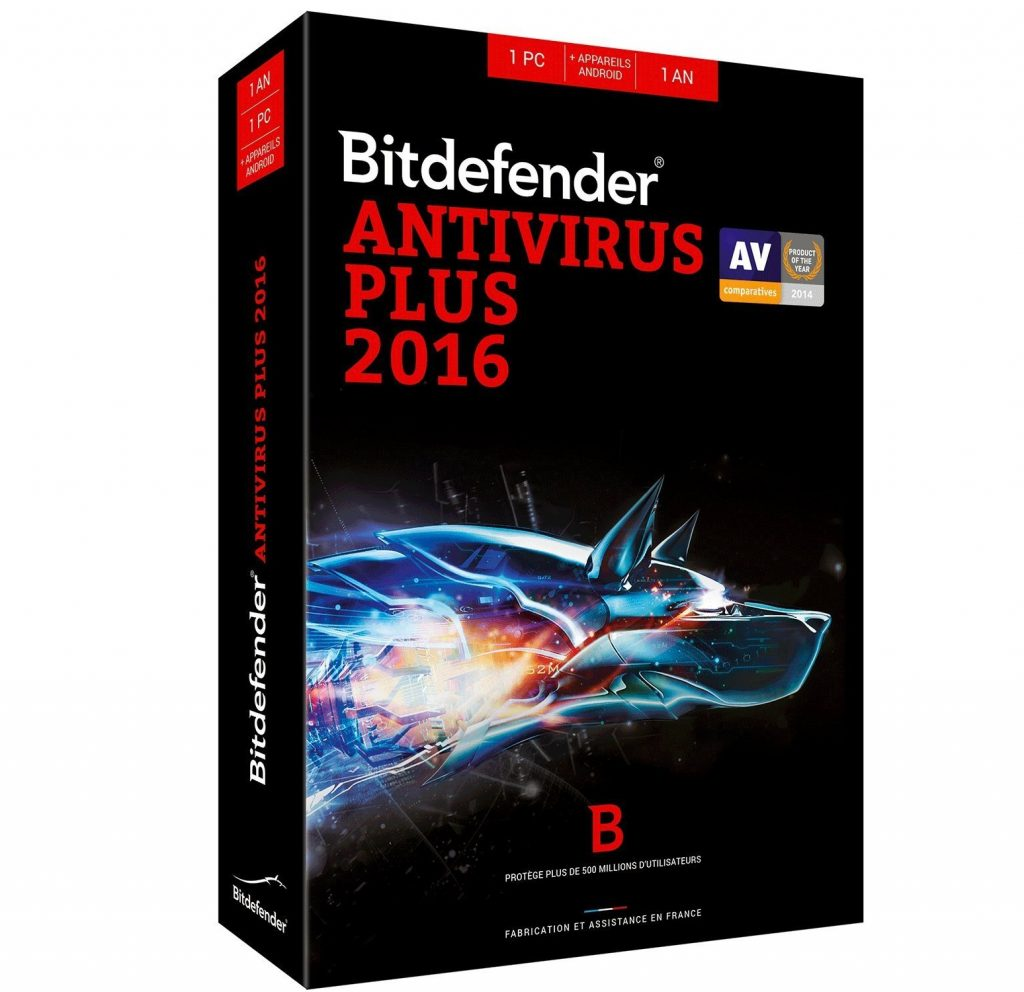 antivirus bitdefender plus avis tests et prix en avr 2018. Black Bedroom Furniture Sets. Home Design Ideas
